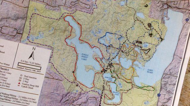 lake elmo winter map