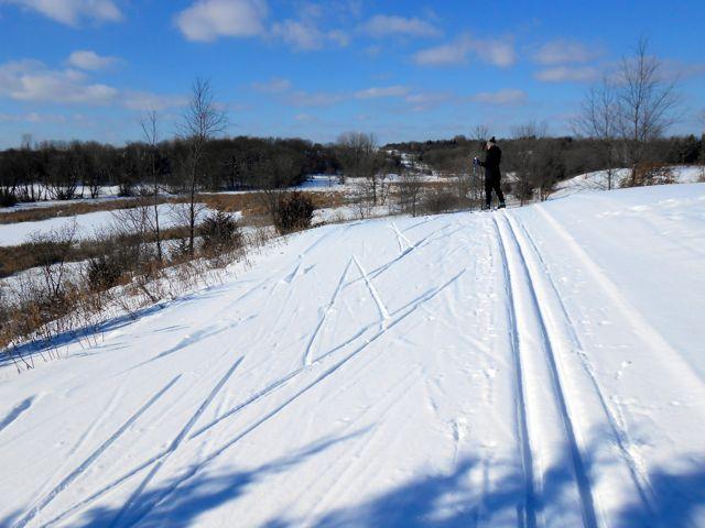 skiing lake elmo