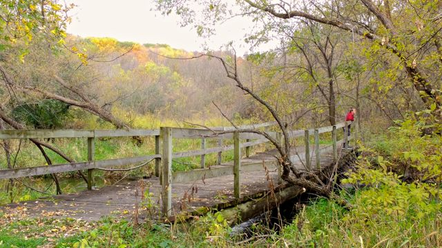 hiking elm creek