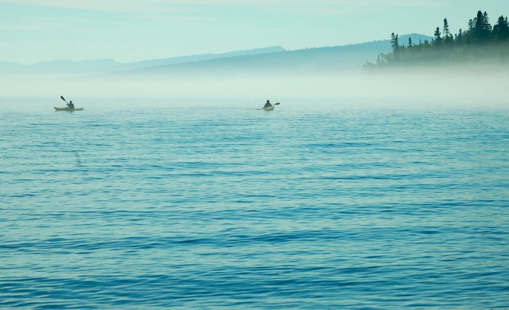 kayaking physical activity
