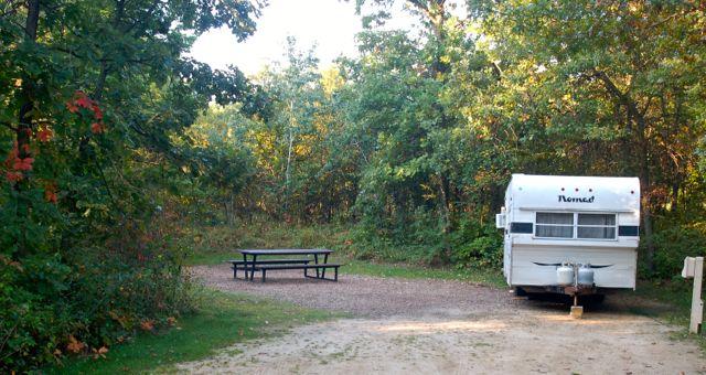 bunker hills campground campsite