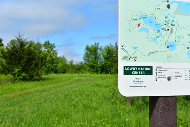 hiking trail map carver park reserve