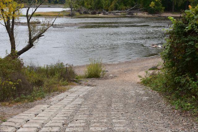 boat launch coon rapids dam west