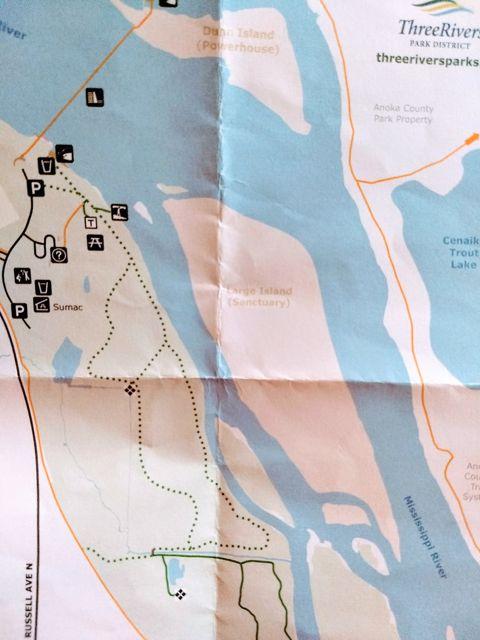 coon rapids dam map