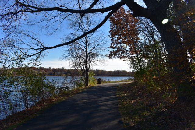 hiking trail fish lake