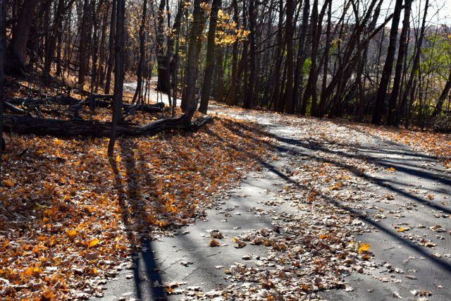 bike trail fish lake regional park