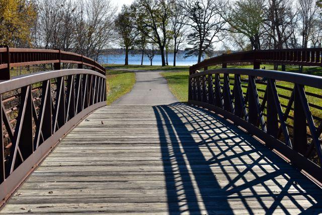 footbridge French Park