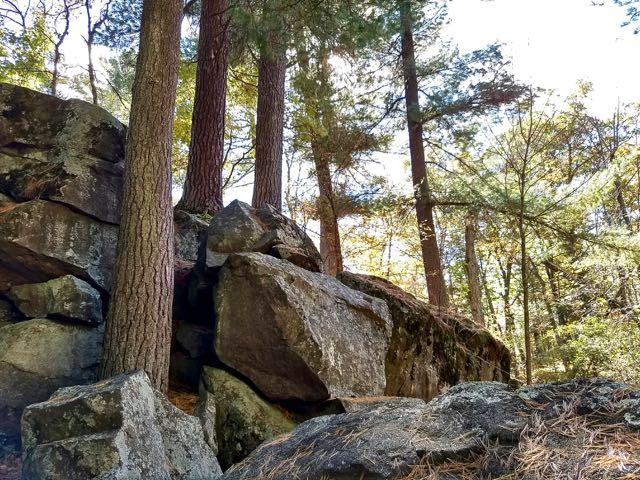 rocky hike
