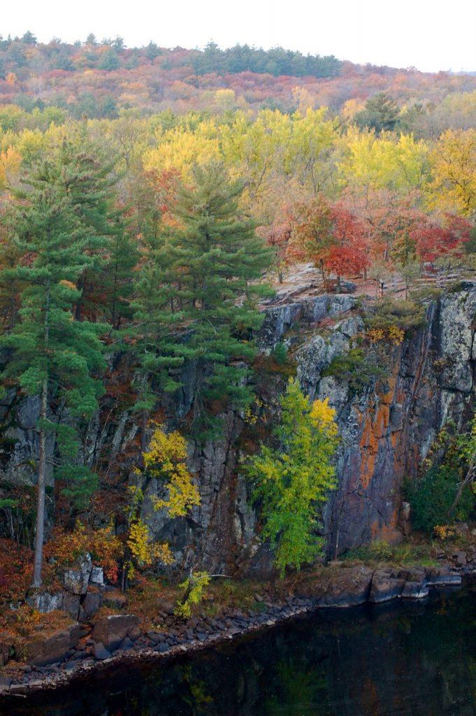 Wisconsin cliffs st. croix river