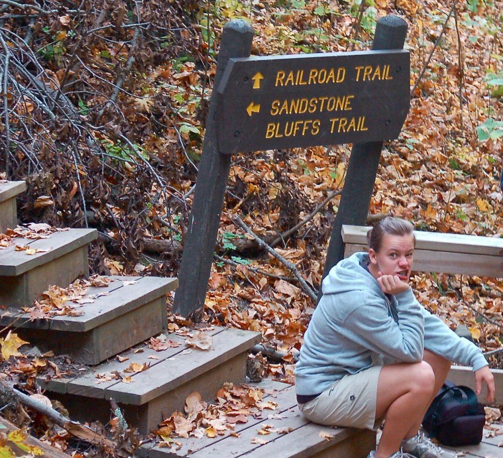 Interstate park hiking