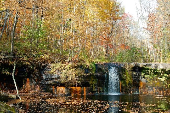 wolf creek falls banning state park
