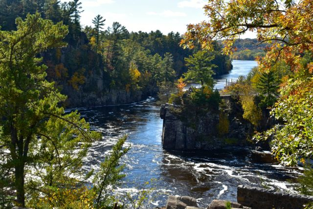 St. Croix River from the Potholes Trail, Interstate Park Wisconsin