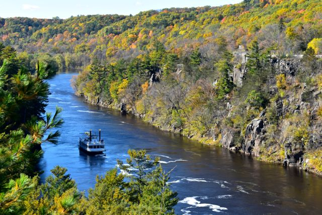 riverboat, St. Croix River