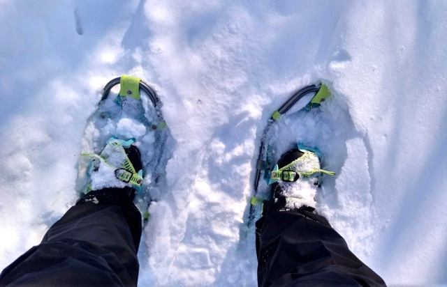 snowshoeing rum river central