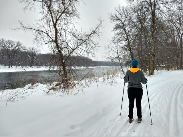 cross country ski fort snelling state park