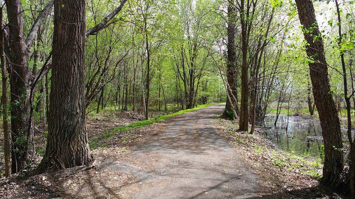 spring hiking