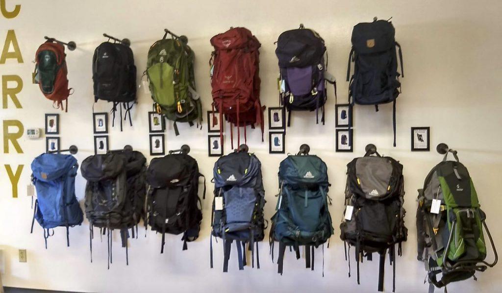 Wooded Nomad backpacks