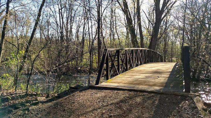 foot bridge locke county park