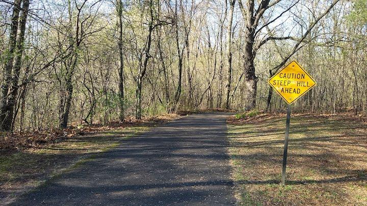 bike trail locke