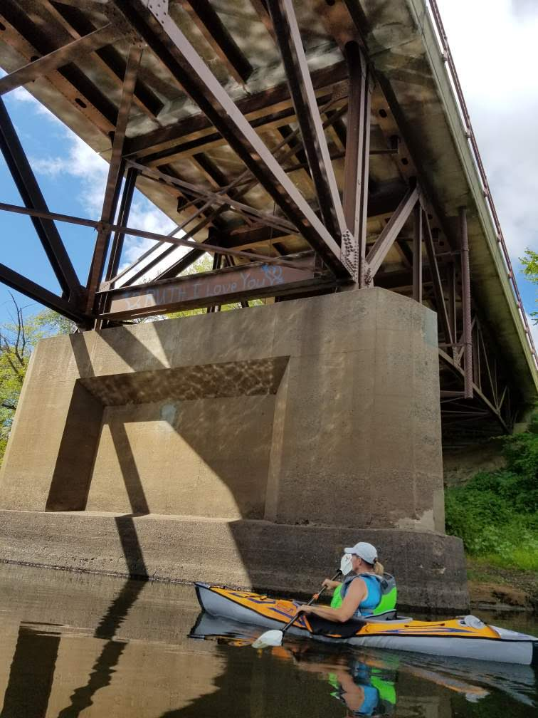 kayaking bridge osceola landing