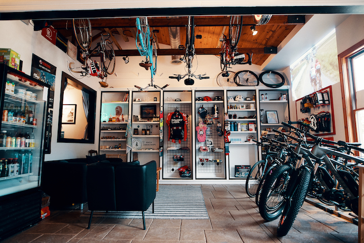 Velo du Nord bike shop (Photo By Joe Lemke. www.joelemke.com)