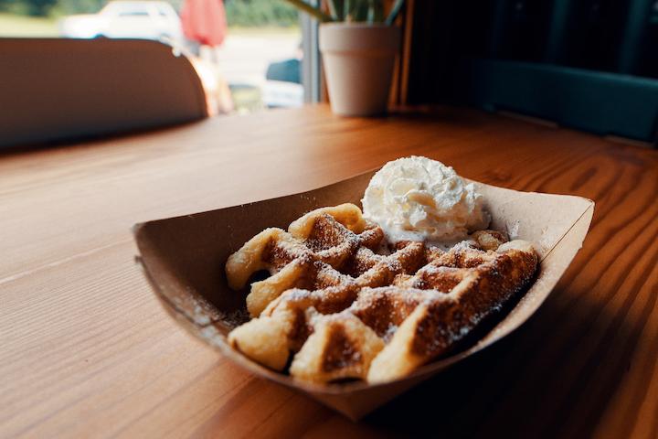 liege waffle (Photo By Joe Lemke. www.joelemke.com)