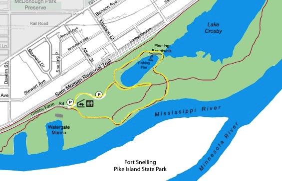 crosby farm park map
