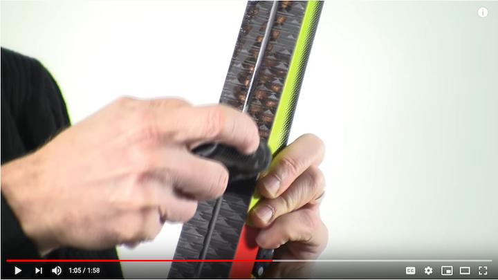 ski wax video