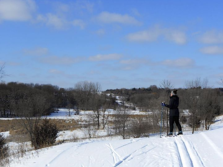 cross country ski lake elmo