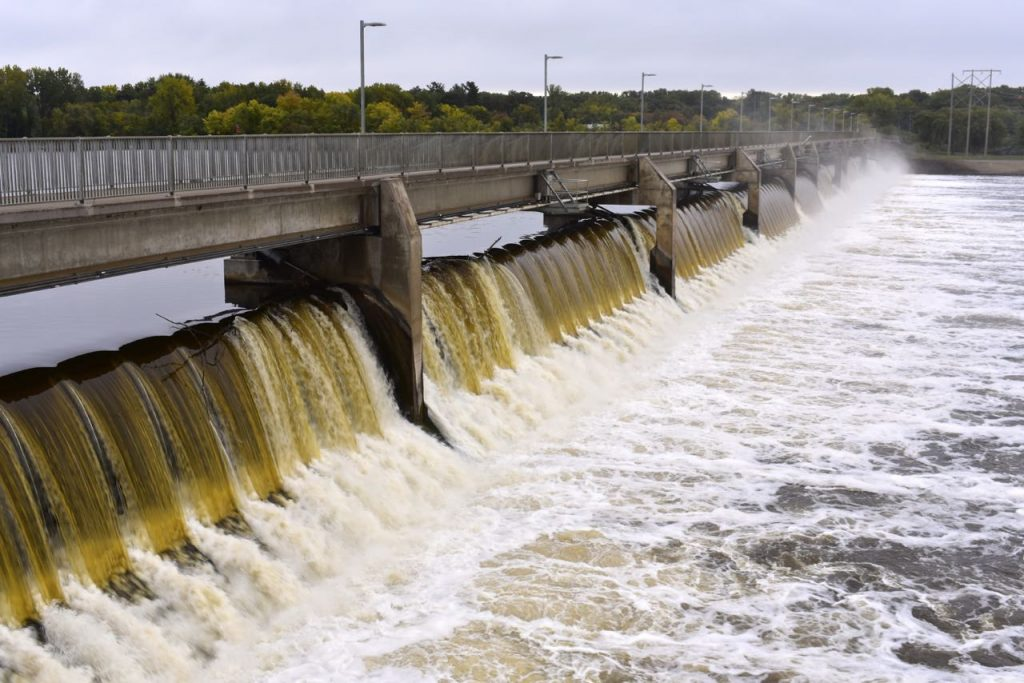 coon rapids dam, mississippi gateway regional park