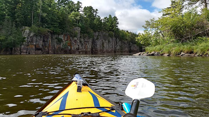 kayaking on the st croix river state water trail