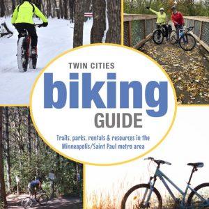 twin cities biking guide cover