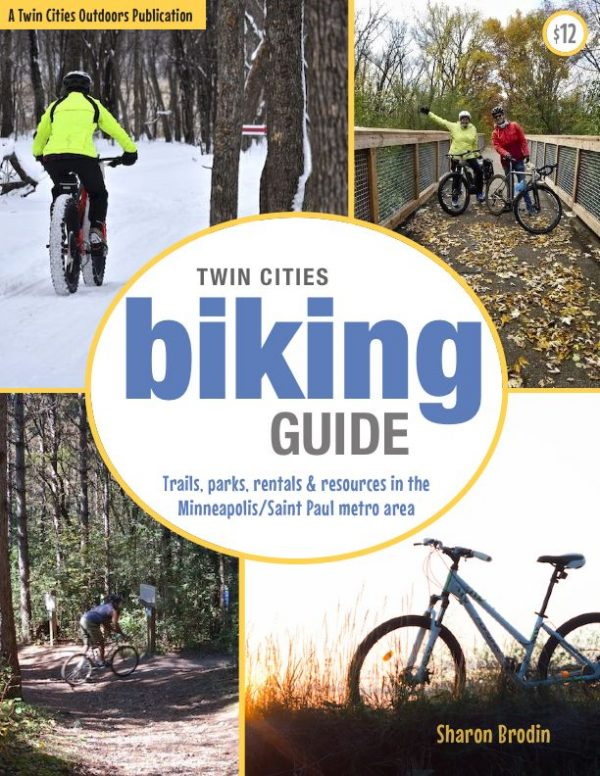 twin cities biking guide cover