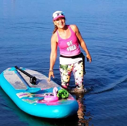 Enjoy SUP owner Kelly Konopliv