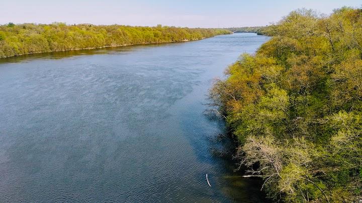 mississippi river from ford bridge