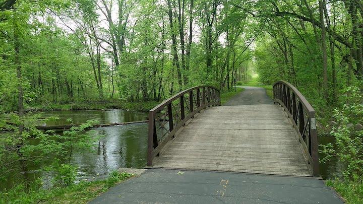 bridge over elm creek, elm creek park reserve