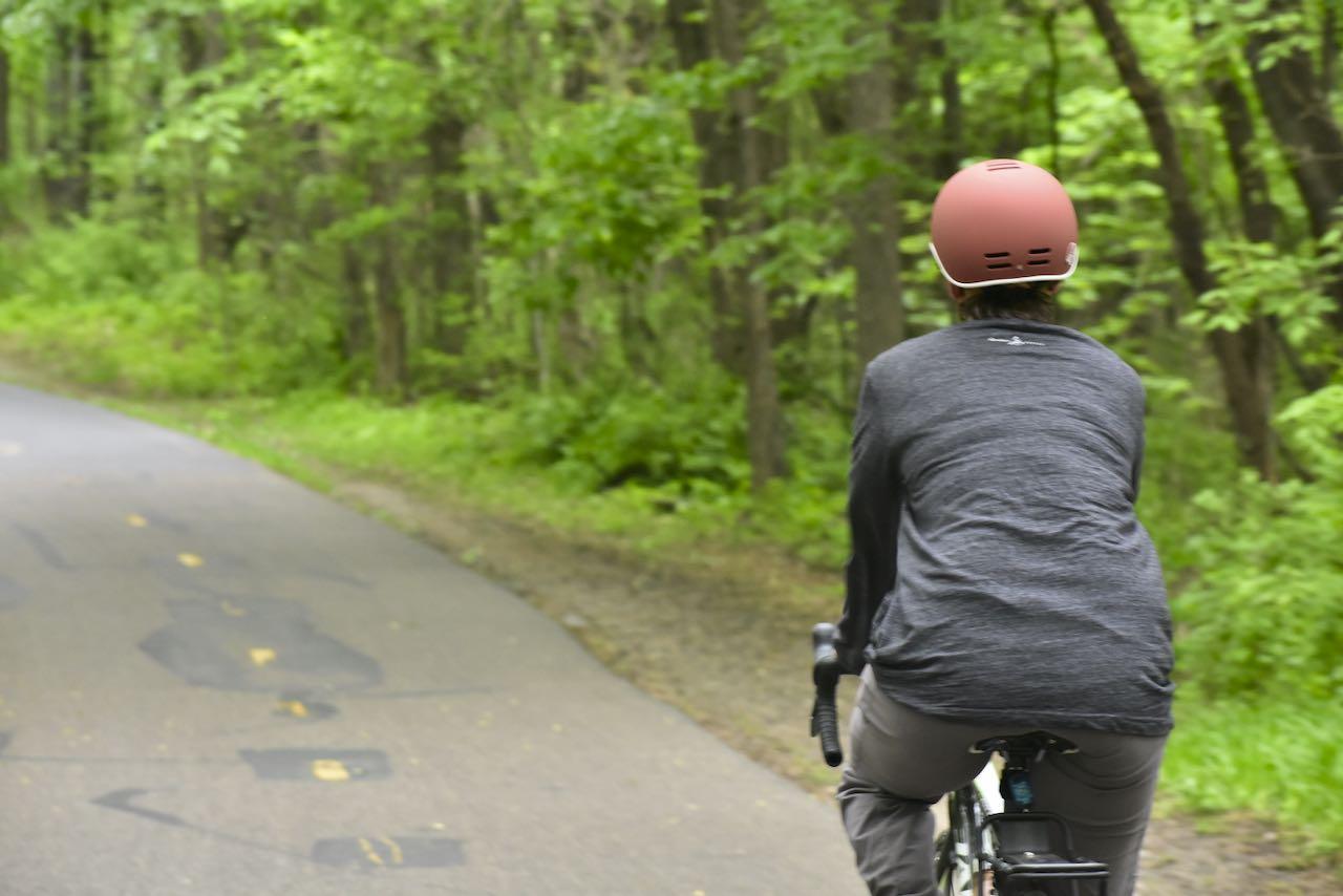 biking in elm creek park rserve