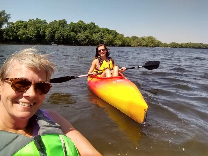 kayaking the mississippi river state water trail