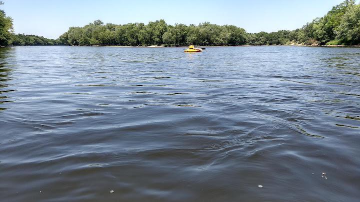 kayaking the mississippi river