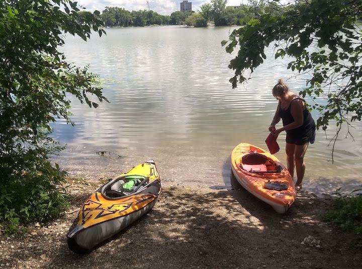 canoe launch on cedar lake mpls chain of lakes