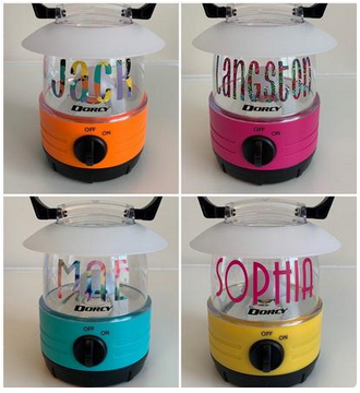 personalized lanterns