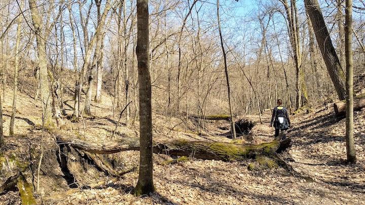 hiking deer valley loop early spring