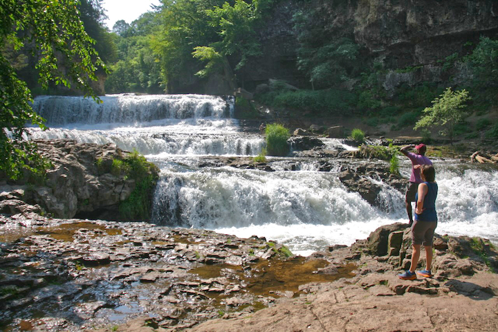 Willow Falls, Willow River State Park