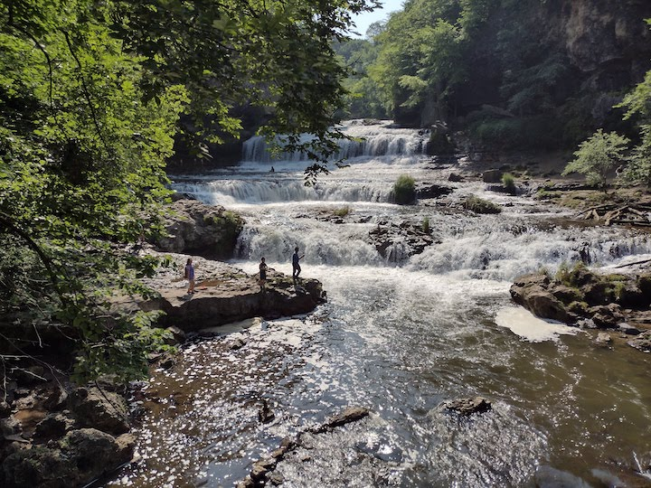 willow river state park hiking