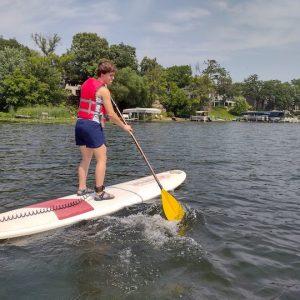 Kayaking, SUPing and Canoeing on Fish Lake