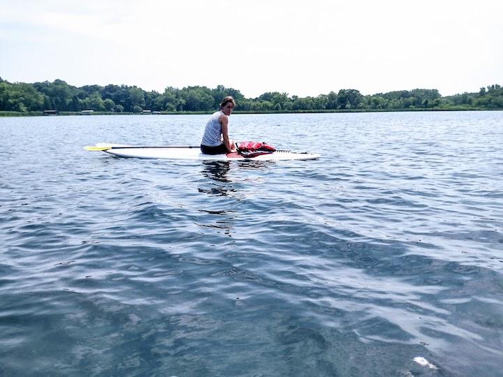 read for a swim in fish lake