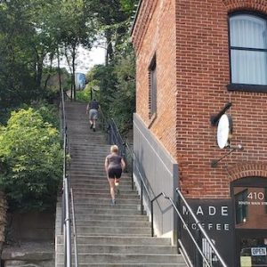 Hiking the Stillwater Historic Stairs Route
