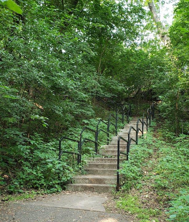 mulberry stairs, stillwater